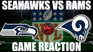 Reacting to the Seahawks-Rams game!
