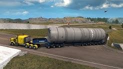 OREGON | Peterbilt 357 8X4 Heavy Haul | Transportando Silo Gigante a Portland