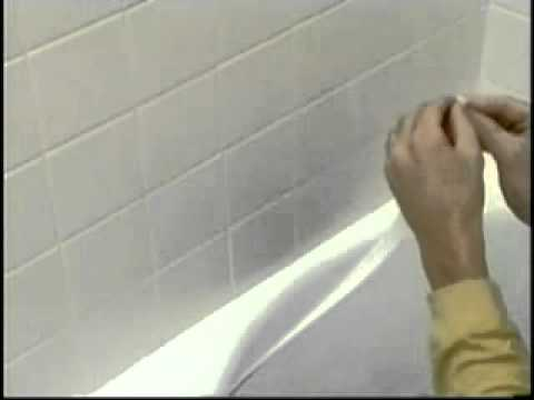 Tub Amp Wall Seal A Crack Adhesive Sealer Installation Youtube