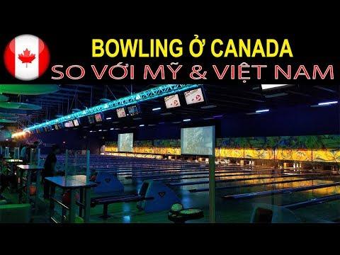 🍁Cuộc Sống Canada: Đi Chơi Bowling ở Vancouver Canada | Quang Lê TV #31