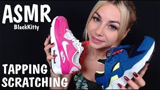 ASMR Подбираем обувь 👟👣 Шепот 👄 ASMR Choose shoes Tapping Scratching ✋ Whisper