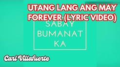 CLOSER (Chainsmokers) 'Tagalog Version' PARODY (Official Lyric Video) - Utang Lang Ang May Forever
