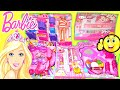 Barbie Doll Makeup Toy Gift set and Beauty Accessories play set for kids