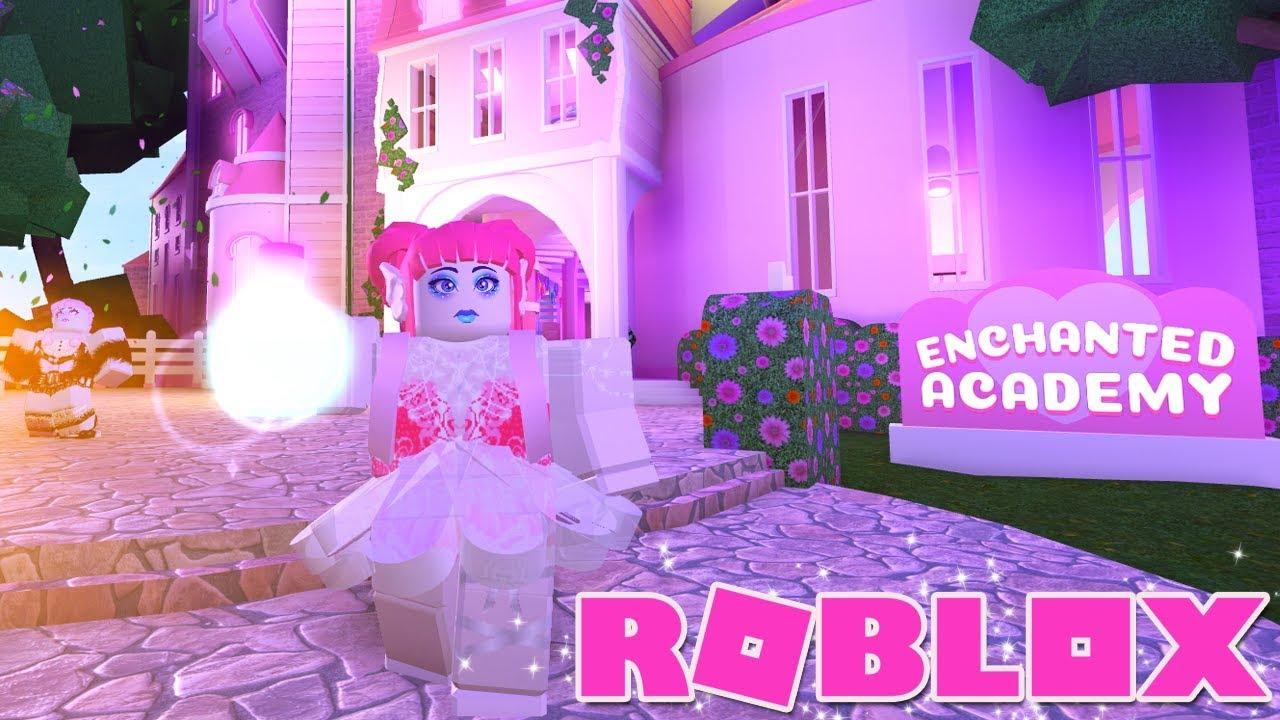 Roblox Enchanted Academy I M A Mermaid Youtube - first day of school in the roblox enchanted academy youtube