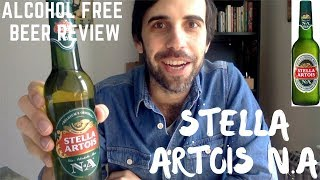 The Famous Stella Artois N.A   Best Non Alcoholic Beer Reviews/