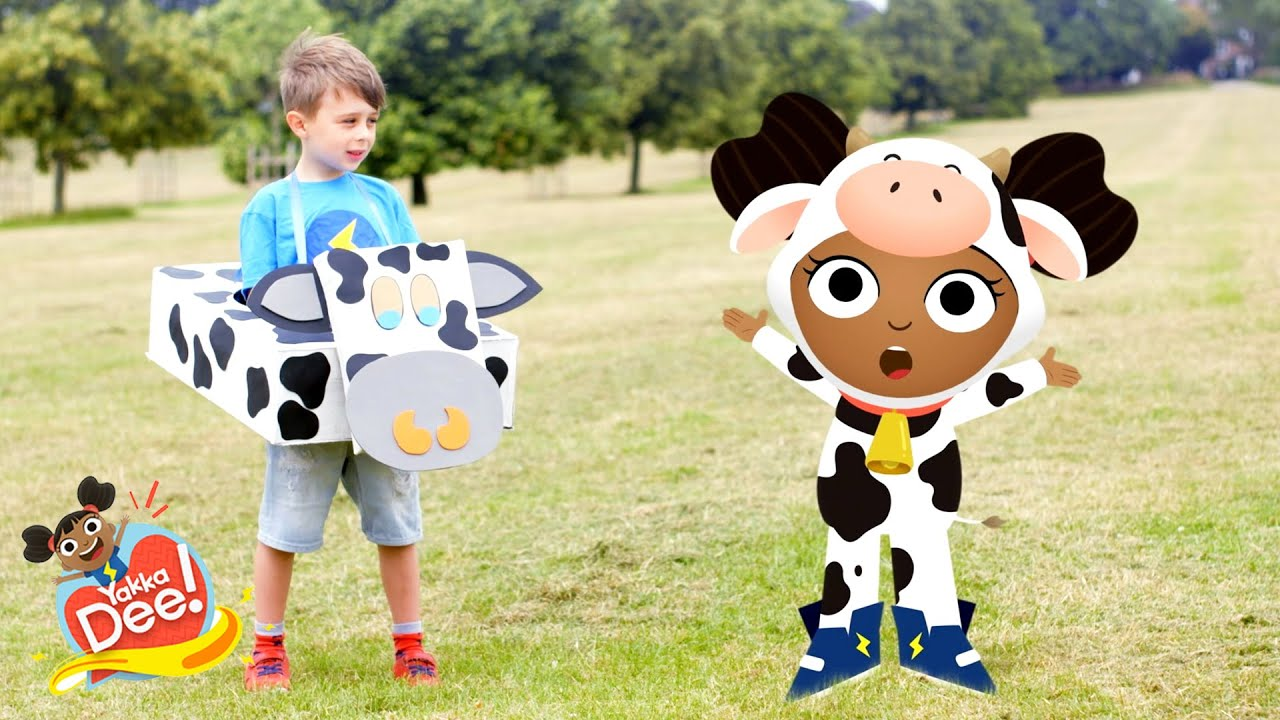 Can you say Cow? 🐄 | Yakka Dee!