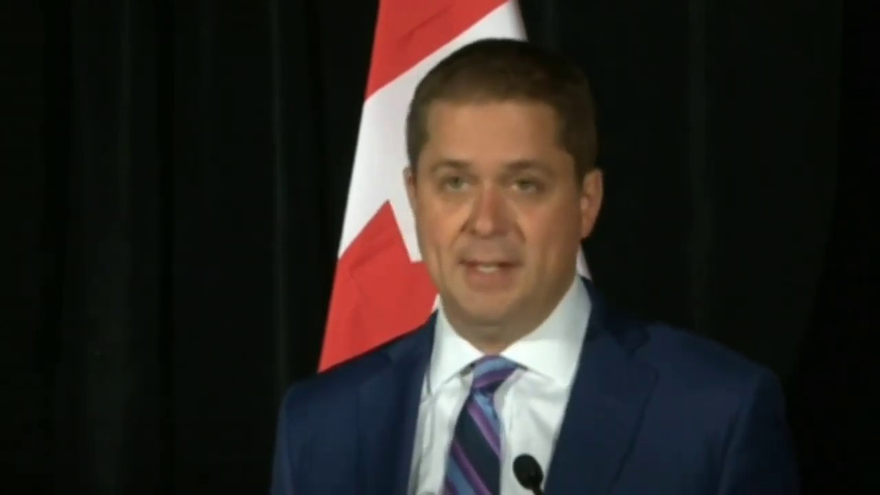 Image result for Andrew Scheer responds to Justin Trudeau's SECOND Ethics Violation (english no commentary)