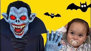 Halloween Song nursery Rhymes for kids from Little Jayda