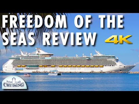 Freedom Of The Seas Tour Review Royal Caribbean International Cruise Ship 4K Ultra HD