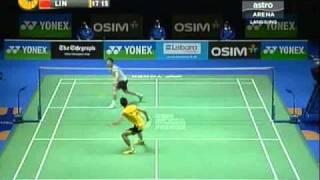 lee chong wei vs lin dan all england 2011 final part 5