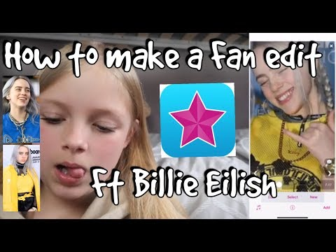 How to make a Fan Edit ft Billie Eilish QR codes