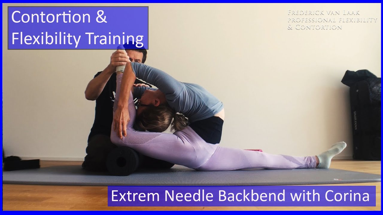 94 Flexyart Contortion Training: Extreme Needletraining  - Also for Yoga, Pole, Ballet, Dance People