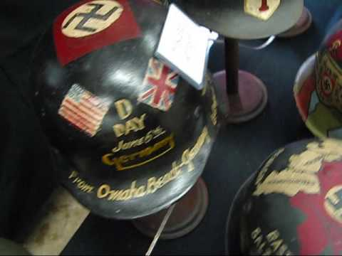 Steel Canvas, Decorated Battle Helmets of WWI and WWII