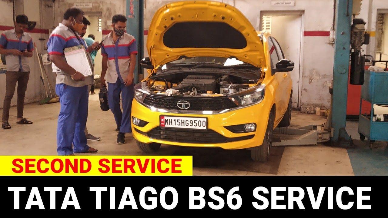 TATA TIAGO 2ND SERVICE   EXPERIENCE