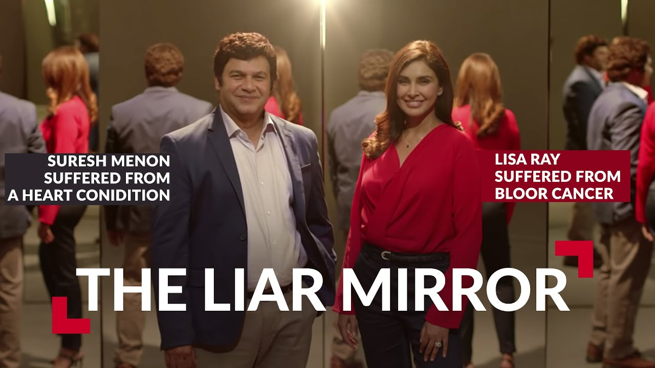 HDFC Life Liar Mirror