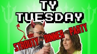 Ty Tuesday - Slow mo food throw