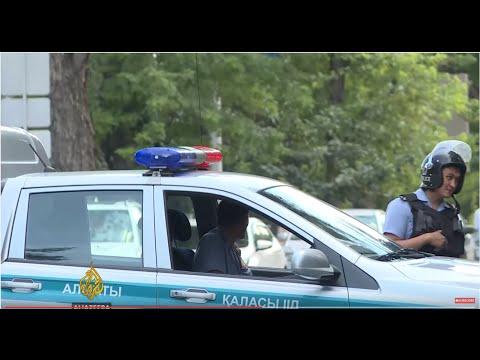 Three policemen killed in Kazakhstan shootings