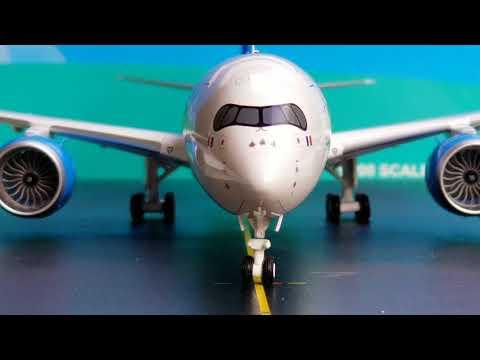 JC Wings 200 Air Caraibes A350-900XWB Review FHD(Full High Definition)