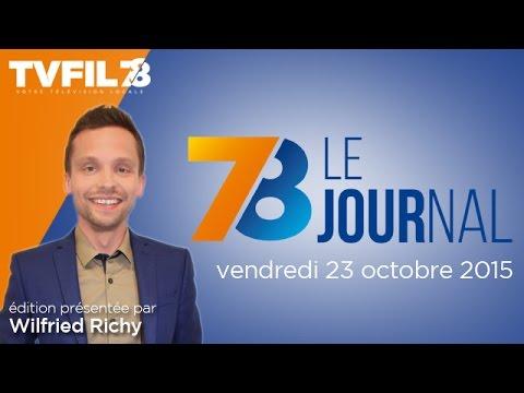 7/8 Le Journal – Edition du vendredi 23 octobre 2015