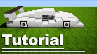 Minecraft: How to Make a Sport Car -  Lamborghini / Ferrari [ VehicleTutorial ] For Modern House