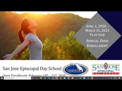 San Jose Episcopal Day School - 2020 Open Enrollment Presentation
