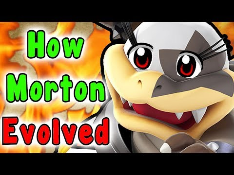 Super Mario - Evolution Of MORTON KOOPA JR. (Koopalings 1985-2017)