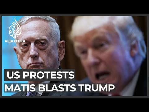 Ex-defence chief Mattis rips Trump for response to Floyd protests