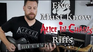 Download Top 5 Alice In Chains Riffs Mp3 and Videos