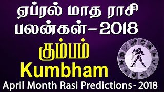 Kumbha Rasi (Aquarius) April Month Predictions 2018 – Rasi Palangal