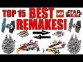 Top 15 BEST LEGO Star Wars Remakes!