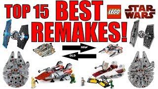 Top 15 BEST LEGO Star Wars Remakes!