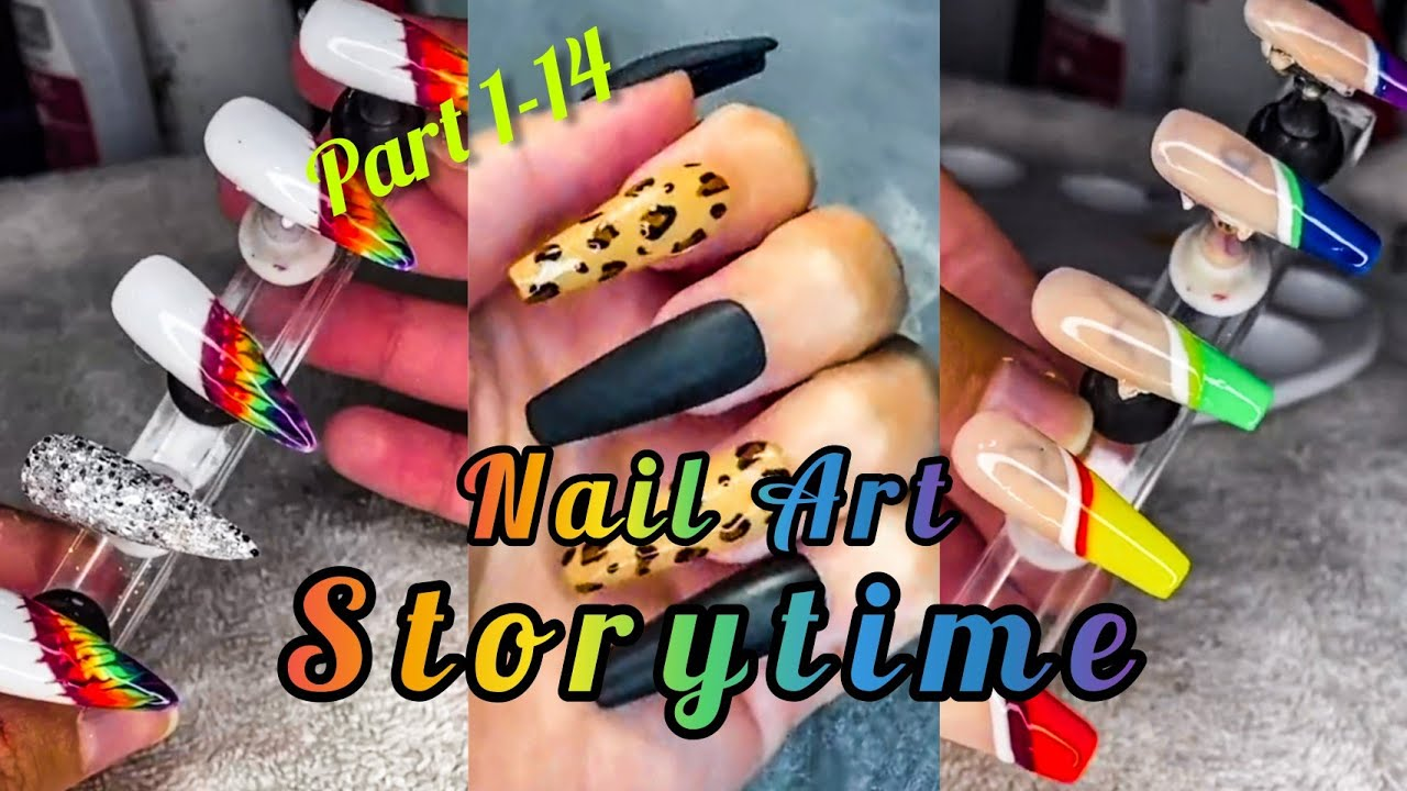 🆕️ COMPLETE NAIL ART STORY TIME PART2 TIKTOK COMPILATION | atv