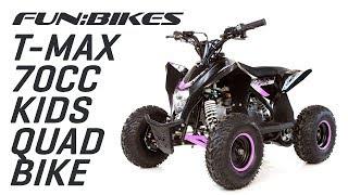 Product Showcase: FunBikes T-Max 70cc Kids Quad Bike