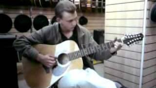 12 струн Беспечный ангел ария на гитаре