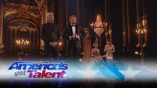 the clairvoyants are back with a mind blowing performance america s got talent 2017