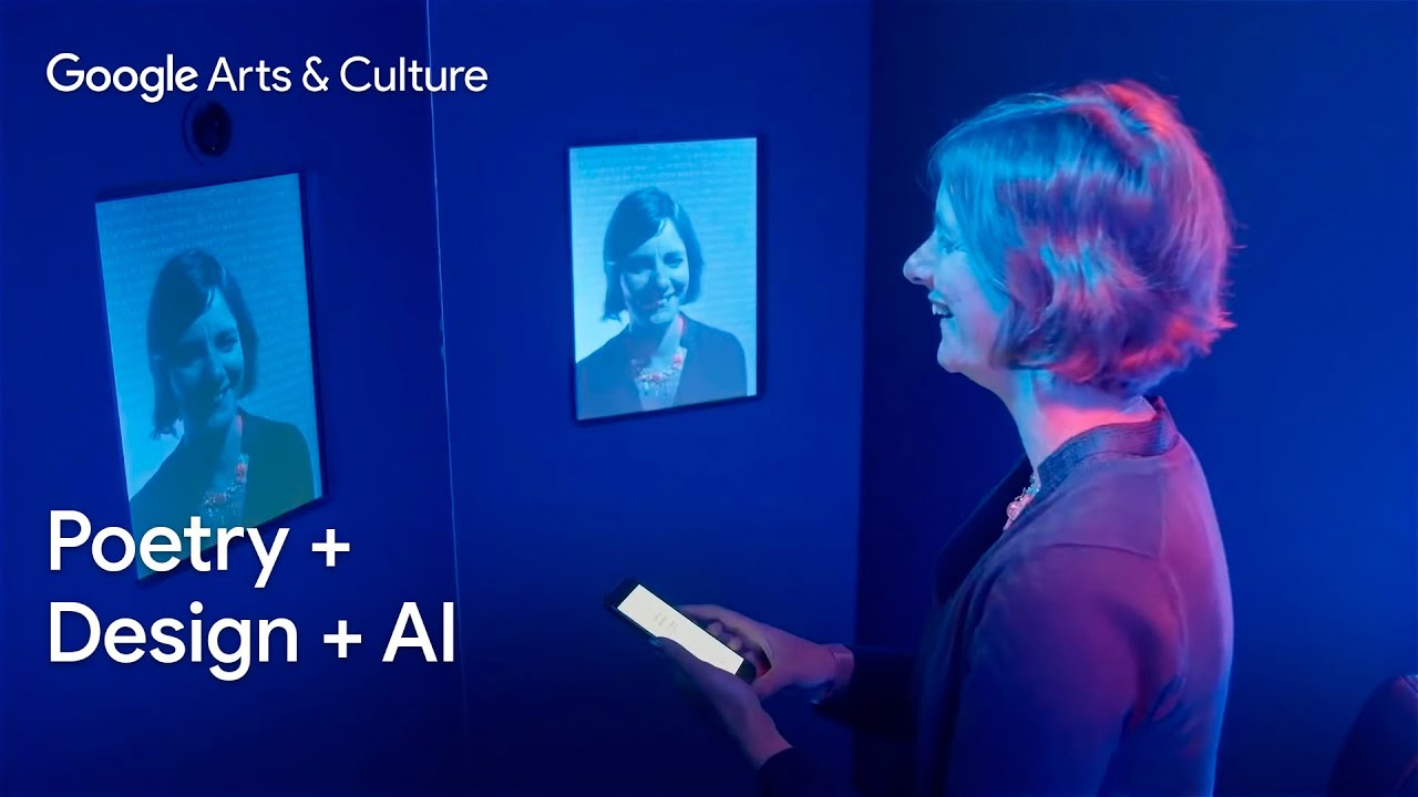 POEMPORTRAITS: an interactive artwork combining poetry + design + AI