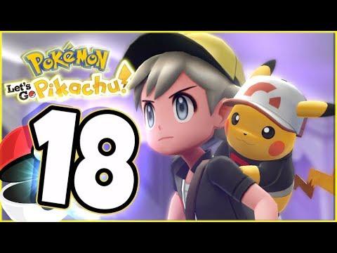Pokémon Let's Go Pikachu Walkthrough Part 18 Spooky Tower Ghost! (co-op gameplay)