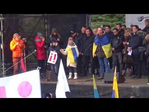 Митинг в Киеве 4.02.2018