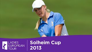 Solheim Cup - Charley Hull on Day 3