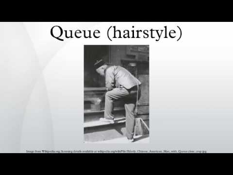 Queue (hairstyle) - Queue (hairstyle) - YouTube