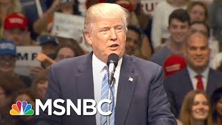 'dicky Durbin' Joins Long List Of President Donald Trump Nicknames | The 11th Hour | Msnbc