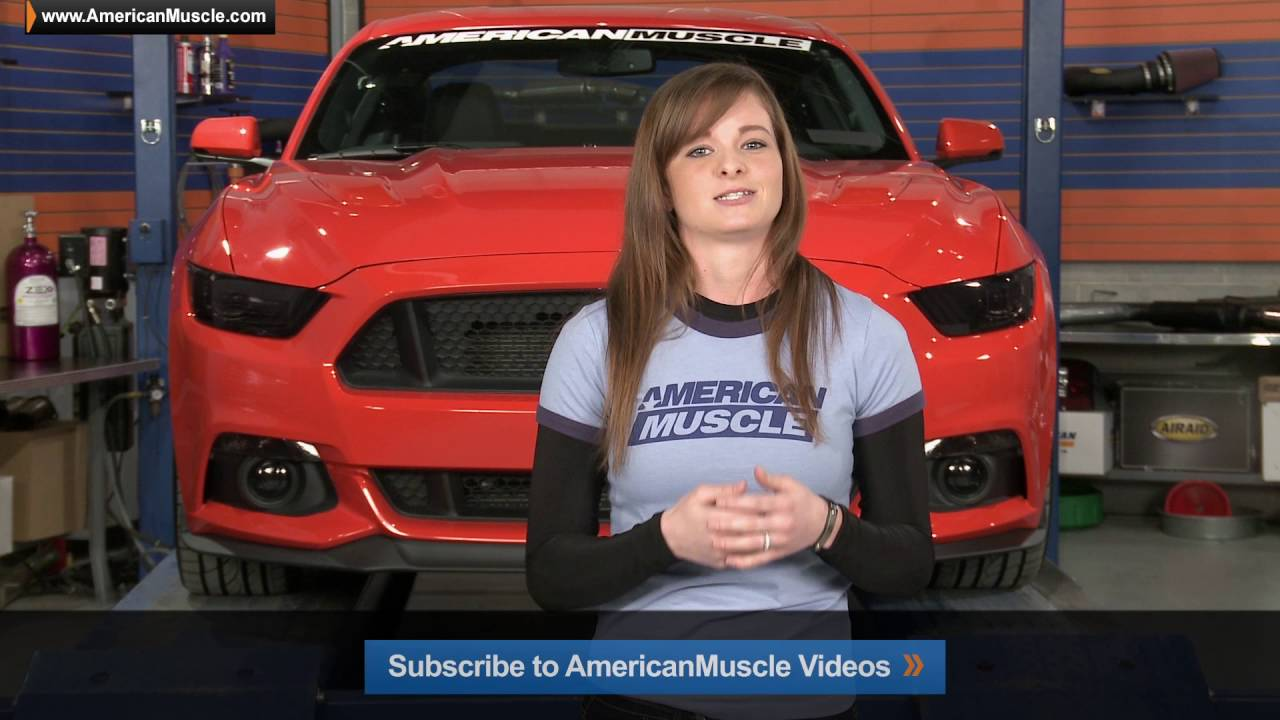 2015-2016 AmericanMuscle Graphics Tint Kit Review & Install - YouTube