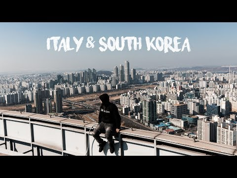 ITALY & SOUTH KOREA TRAVEL VIDEO (VLOG #4)