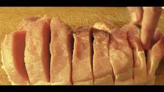 Свинина запеченная в духовке с черносливом-простой рецепт.