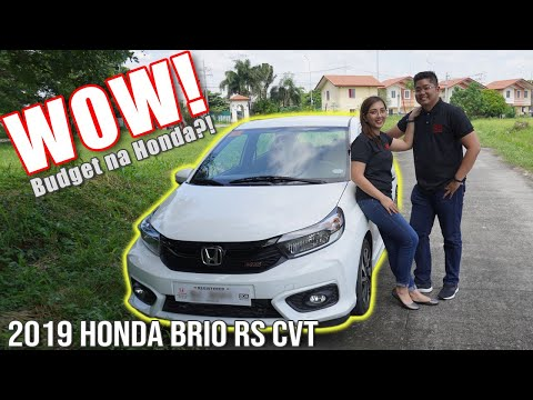 2019 Honda Brio RS CVT Review Philippines : Budget Honda Car