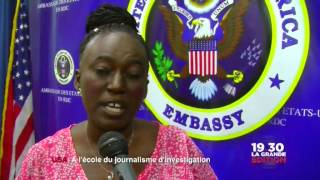 Le 30 août: Ambassade des USA; à l'école du journalisme d'investigation