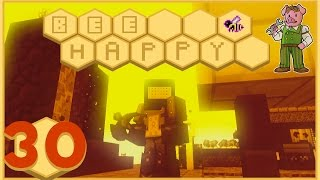 Minecraft: Bee Happy - #30 - New Machines and Pigby DESTROYS (FTB Modded Minecraft)
