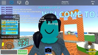 Roblox skywars new start part ?? Making people mad
