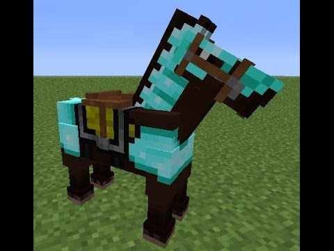 How To Make Horse Armor In Minecraft How To Make Diamond Horse