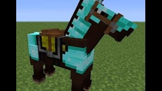 how to make horse armor in minecraft how to make diamond horse armor